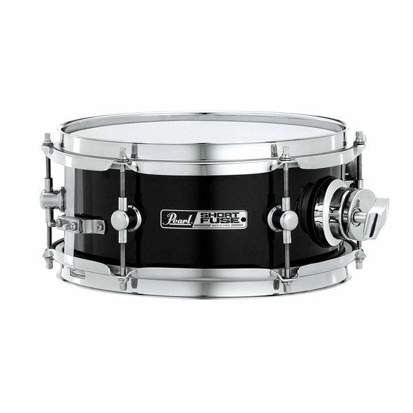 Pearl Pearl Short Fuse 4x10 Snare Drum w/ ISS Mount Jet Black