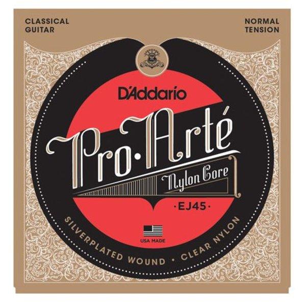 D'Addario D'Addario EJ45 Pro-Arte Nylon Classical Guitar Strings, Normal Tension