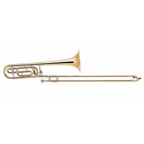 Bach 42BOR Stradivarius Professional Tenor Trombone w/ F Rotor, Open Wrap