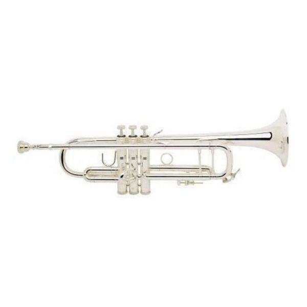 Bach Bach 180S37G Stradivarius 180 Profess Bb Trumpet Silver Pltd #37 Gold Brass Bell