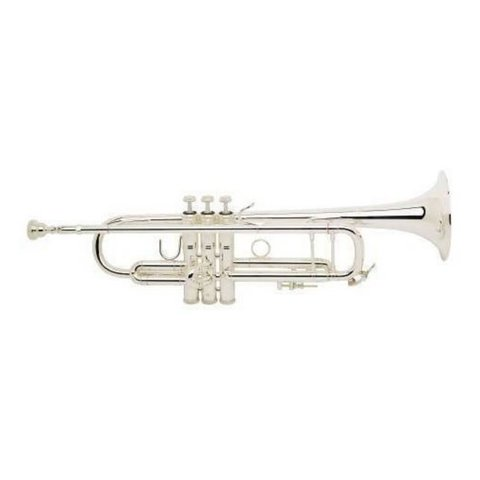 Bach 180S37G Stradivarius 180 Pro Bb Trumpet Silver Plated w #37 Gold Brass Bell