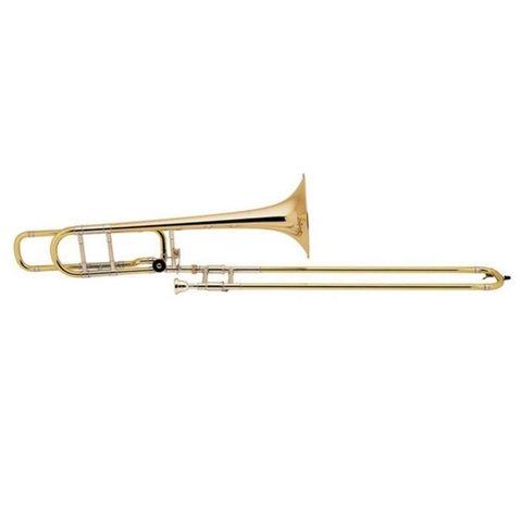 Bach 36BOG Stradivarius Professional Tenor Trombone w/ F Rotor, Open Wrap, Gold