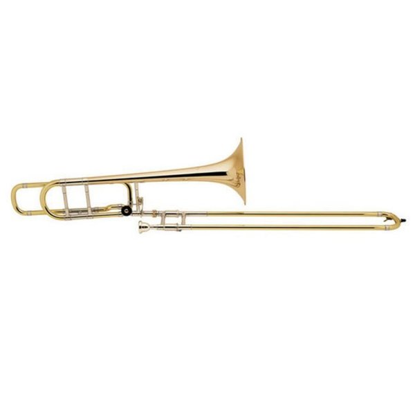 Bach Bach 36BOG Stradivarius Professional Tenor Trombone w/ F Rotor, Open Wrap, Gold