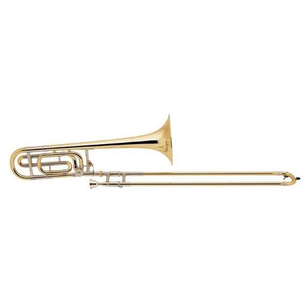 Bach Bach 36BG Stradivarius Profess Tenor Trombone; F Rotor/Traditional Wrap/Gold
