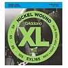D'Addario EXL165 Nickel Wound Bass Guitar Strings, Custom Light, 45-105, Long Scale