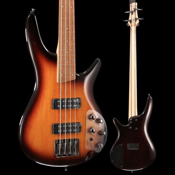 Ibanez Ibanez SR370EFBBT SR Soundgear Fretless Electric Bass Guitar Brown Burst S/N 181116763 8 lbs, 8.5 oz