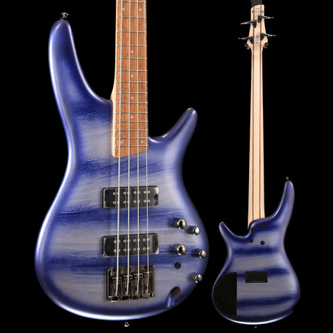 Ibanez SR Standard 4str Electric Bass - Navy Planet Matte S/N 181104939 7 lbs, 12.1 oz