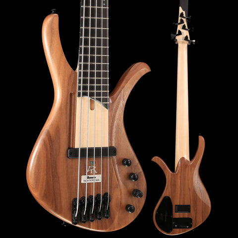 Ibanez AFR5WAPNTF AFR 5str Electric Bass - Natural Flat S/N 181111147 8 lbs, 8.5 oz