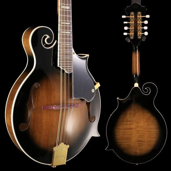 Ibanez Ibanez M522SDVS FM F-Style Mandolin Dark Violin Sunburst S/N 190112037 2 lbs, 4.2 oz