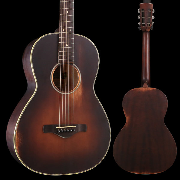 Ibanez Ibanez AVN Artwood Thermo-Aged 6Str Acoustic Guitar - Antique Brown Sunburst Semi Gloss S/N 181014913 3 lbs, 4.4 oz