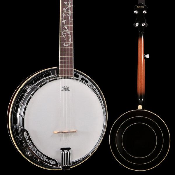 Ibanez Ibanez B300 FM 5-String Banjo w/ Rosewood Resonator Natural S/N 181109672 9 lbs, 13.1 oz