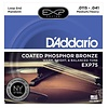 D'Addario EXP75 Coated Phosphor Bronze Mandolin Strings, Medium/Heavy, 11.5-41