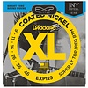 D'Addario EXP125 Coated Electric Strings, Super Light Top/Regular Bottom, 9-46
