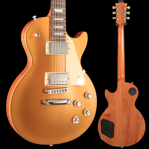 Gibson Gibson LPTR18SGNH1 Les Paul Tribute 2018 Satin Gold S/N 180060267 8 lbs, 14.3 oz