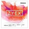 D'Addario Zyex Viola String Set, Long Scale, Light Tension