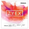 D'Addario Zyex Viola String Set, Long Scale, Heavy Tension