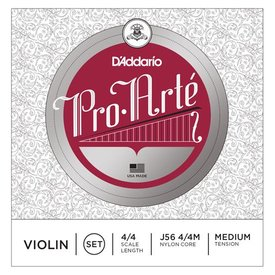 D'Addario Orchestral D'Addario Pro-Arte Violin String Set, 4/4 Scale, Medium Tension