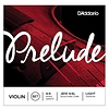 D'Addario Prelude Violin String Set, 4/4 Scale, Light Tension