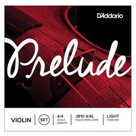 D'Addario Orchestral D'Addario Prelude Violin String Set, 4/4 Scale, Light Tension