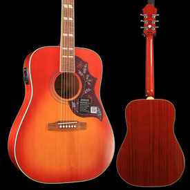 Epiphone Epiphone EEHBFCNH1 Hummingbird Pro Acoustic Electric, Faded Cherry, Nickel Hardware S/N 19022307733 5 lbs, 0 oz
