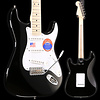 Eric Clapton Stratocaster, Maple Fingerboard, Black S/N US19020692 8 lbs, 2.6 oz
