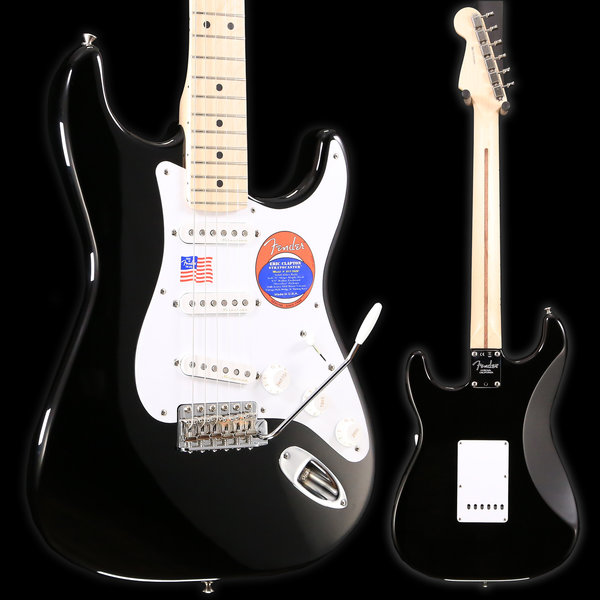 Fender Fender Eric Clapton Stratocaster, Maple Fingerboard, Black used 889 7lbs 13.7oz