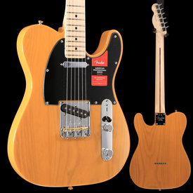 Fender American Pro Telecaster, Maple Fingerboard, Butterscotch Blonde S/N US19015890 7 lbs, 13.7 oz