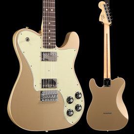 Fender Chris Shiflett Telecaster Deluxe, Rosewood Fingerboard, Shoreline Gold S/N MX18212278 7 lbs, 15.6 oz