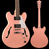 Ibanez AS63CRP AS Artore Vibrante 6str Electric Guitar - Coral Pink S/N 19011752 7 lbs, 12.3 oz