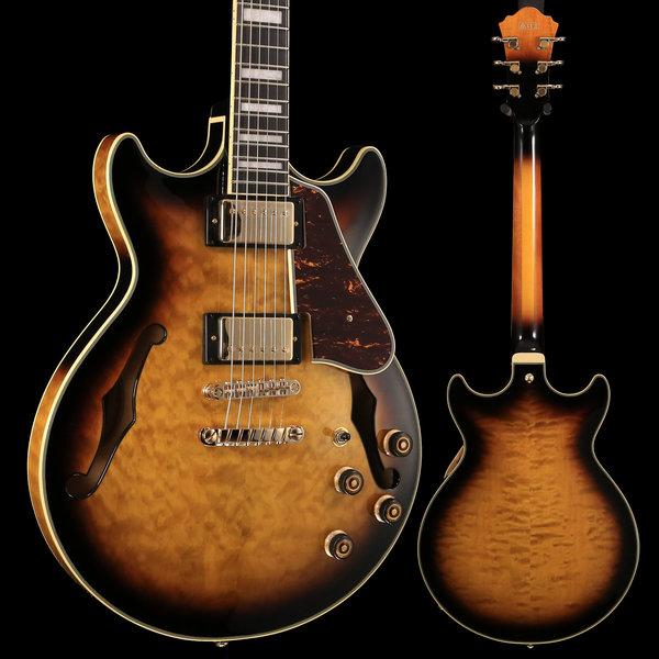 Ibanez Ibanez AM Artcore Expressionist 6str Electric Guitar - Antique Yellow Sunburst S/N 19011206 8 lbs, 3.9 oz