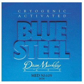 Dean Markley Dean Markley 2676 Blue Steel Electric Bass Strings 50-105 Medium