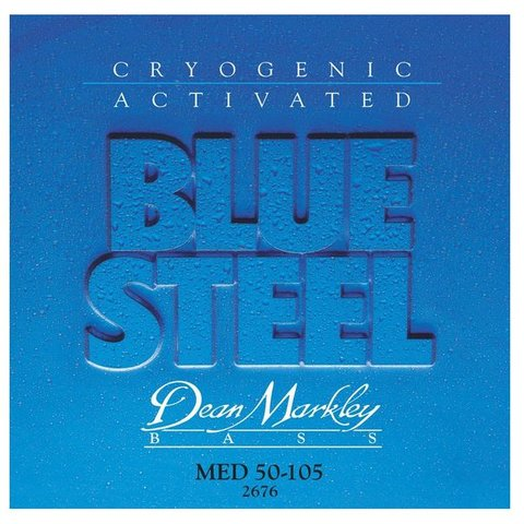 Dean Markley 2676 Blue Steel Electric Bass Strings 50-105 Medium