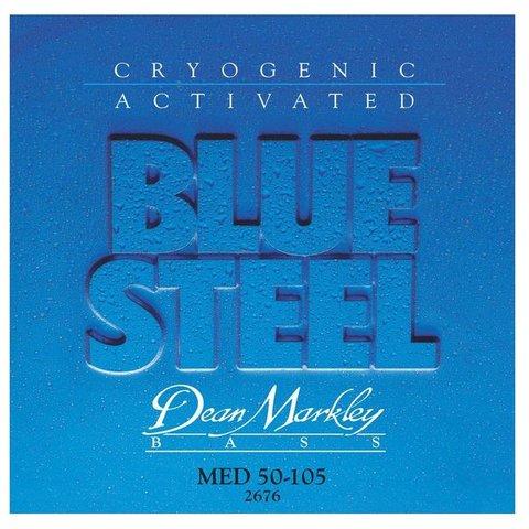 Dean Markley 2676 Blue Steel Electric Bass Strings 50-105 Medium