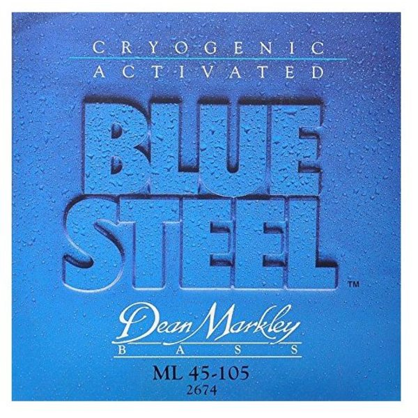 Dean Markley Dean Markley 2674 Blue Steel Electric Bass Strings 45-105 Medium Light
