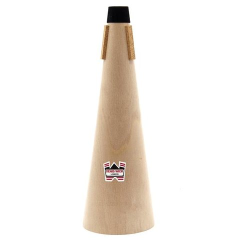 Denis Wick Bass Trombone Wooden Straight Mute
