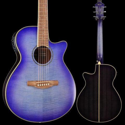 Ibanez AEG19IIPIB AE Series - Purple Iris Burst Gloss S/N PW190100612 4 lbs, 7.2 oz
