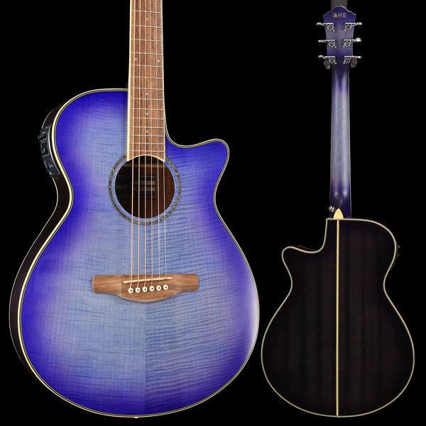 Ibanez Ibanez AEG19IIPIB AE Series - Purple Iris Burst Gloss S/N PW190100612 4 lbs, 7.2 oz