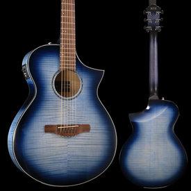 Ibanez Ibanez AEWC400IBB AEWC Series - Indigo Blue Burst Gloss S/N 190101425 5 lbs, 0.4 oz