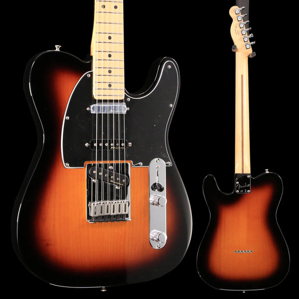Fender Deluxe Nashville Telecaster, Maple Fingerboard, 2-Color Sunburst S/N MX18183955 7lbs 12.7oz