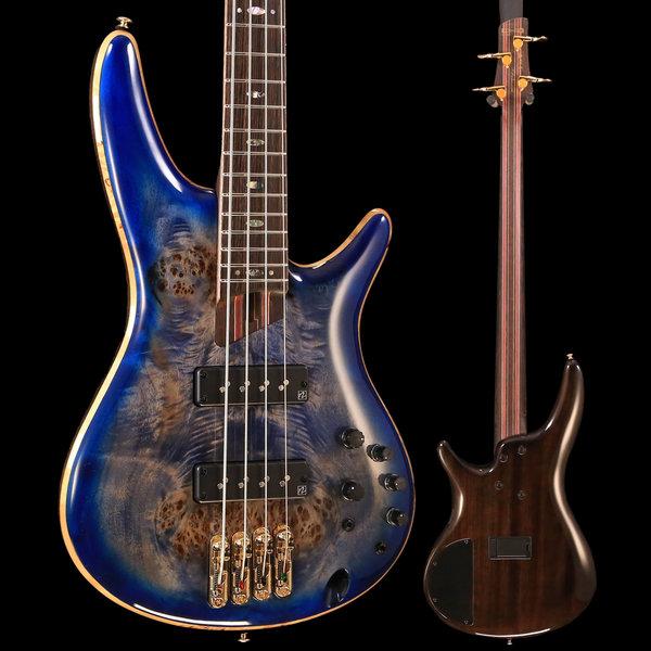Ibanez Ibanez SR2600CBB SR Premium 4str Electric Bass - Cerulean Blue Burst S/N 180918138 7lbs, 15oz