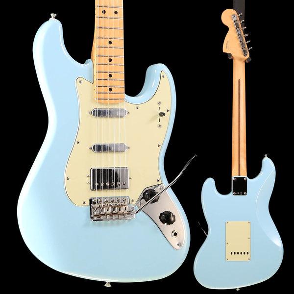 Fender Fender Sixty-Six, Maple Fingerboard, Daphne Blue S/N MX19005570 8lbs, 6oz