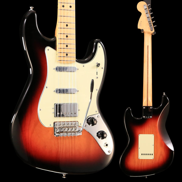 Fender Fender Sixty-Six, Maple Fingerboard, 3-Color Sunburst S/N MX18198939 7lbs, 9.7oz