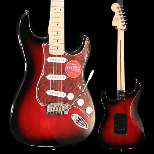 Squier Squier Standard Stratocaster, Maple Fingerboard, Antique Burst S/N ICS19044622 7lbs, 1.6oz