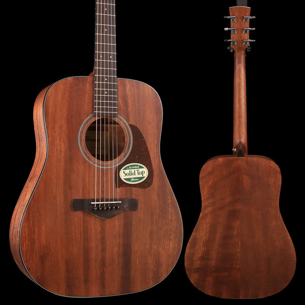 Ibanez Ibanez AW54OPN Artwood Acoustic Guitar Open Pore Mahogany