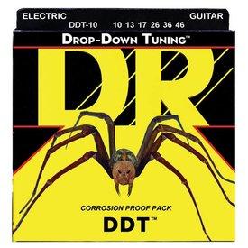 DR Handmade Strings DR DDT-10 Drop-Down Tuning Electric Guitar Strings, 10-46