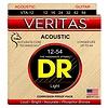 DR Strings VTA-12 Light VERITAS with A.C.T Acoustic: 12, 16, 24, 32, 42, 54