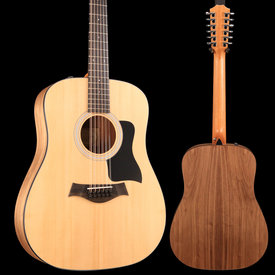 Taylor Taylor 150e 12-String Dreadnought Acoustic-Electric - Natural S/N 2103079341 4lbs, 15.7oz