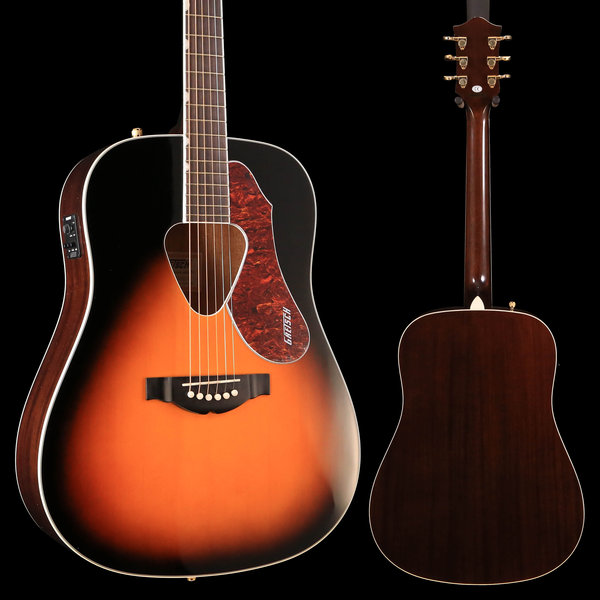 Gretsch Guitars Gretsch G5024E Rancher Dreadnought Electric, Fishman Pickup, Sunburst S/NIS190100326 5lbs 2.3oz