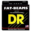DR Strings FB-45 Medium FATBEAM  - Stainless Steel Bass: 45, 65, 85, 105