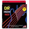 DR Strings NRE-9 Light Hi-Def NEON RED: Coated Electric: 9, 11, 16, 24, 32, 42